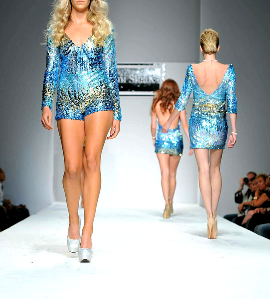 Turquoise Silver Gold Sequin Long Sleeve Shorts Romper