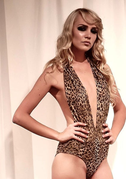 Cheetah Animal Print Swimsuit
