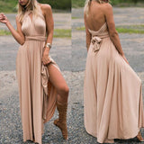 Seamoss Infinity Backless Maxi Dress