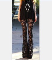 Black Lace Summer Style Pants