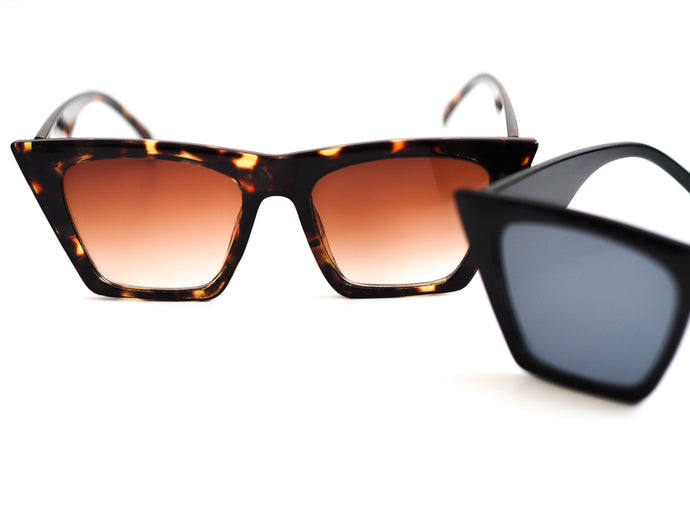 SQUARE CUT SUNGLASSES DUO BUNDLE