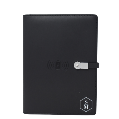 Office gifts everyone will love. Powerbank Journal is personalized and customized to fit gifting needs. Corporate gifts, office gifts, boss gift, employee gift