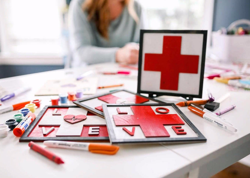 Flags of Valor - Kid's Healthcare Heroes Kit
