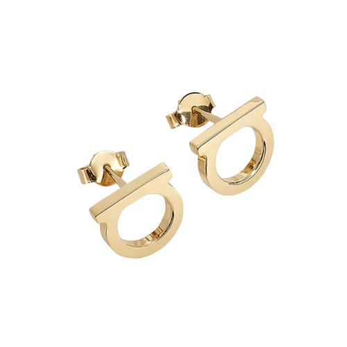 Salvatore Ferragamo Large Gancini Earrings