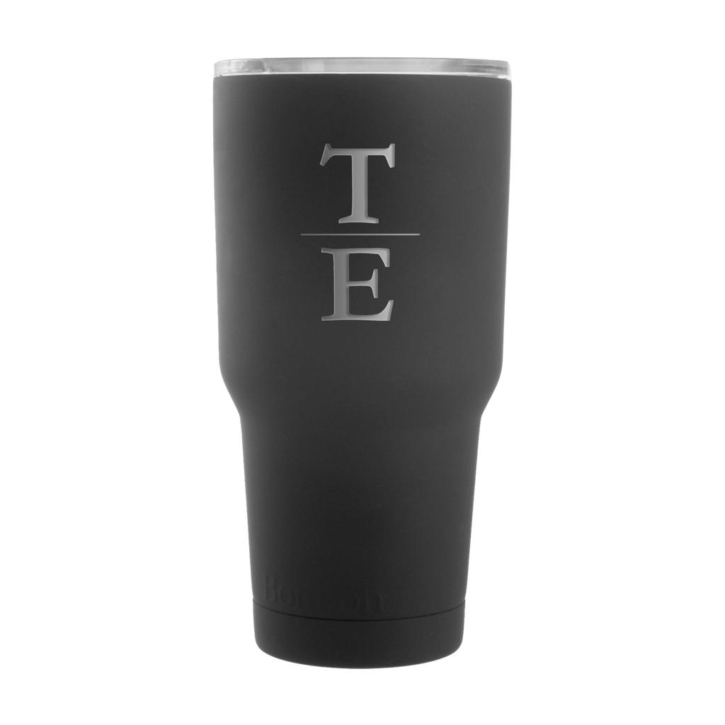 Hudson Cole 30 oz. Black Matte Insulated Tumbler