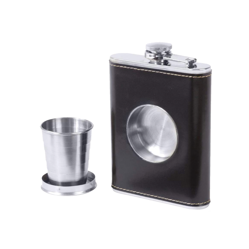 Hudson Cole Stainless Steel Shot Flask