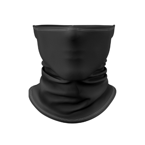 Gaiters to Go Black Gaiter Face Mask