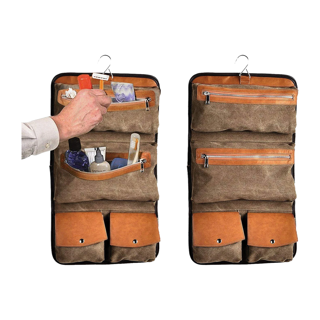 Hudson Cole Hanging Toiletry Kit
