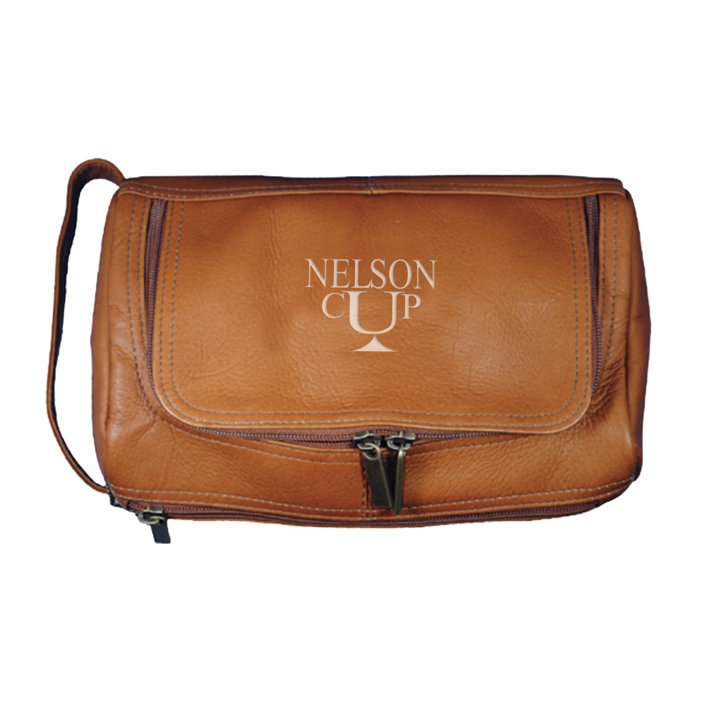 Hudson Cole Leather Toiletry Kit