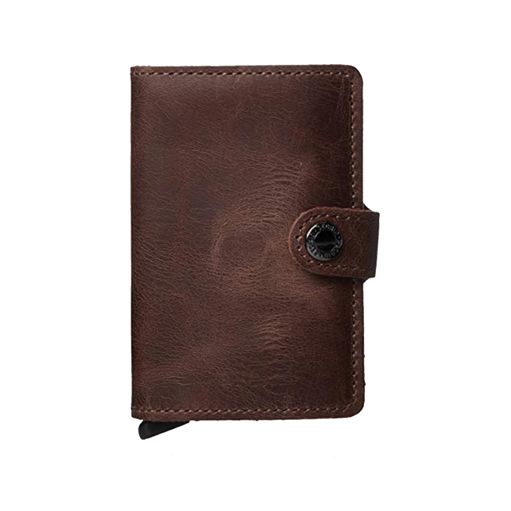 Hudson Cole Slim Leather RFID Wallet