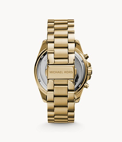 Michael Kors Gold-Tone Bradshaw Watch
