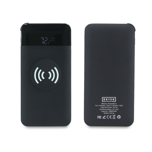 BBTEK Qi Wireless 10,000 MAH Powerbank