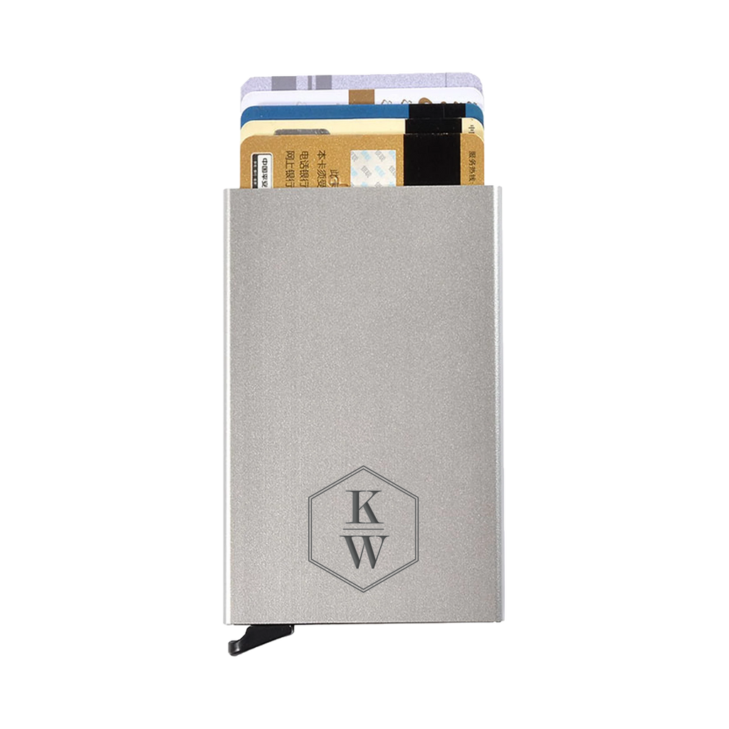 Hudson Cole RFID Aluminum Credit Card Holder