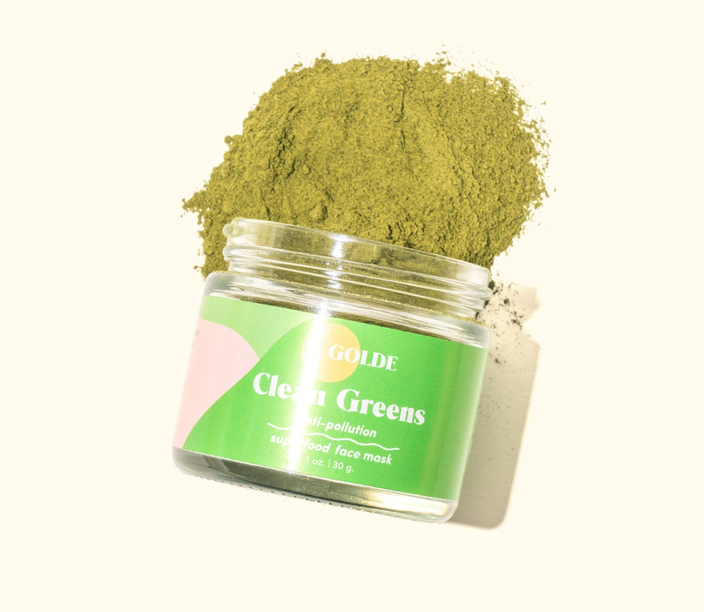 Golde Clean Greens Face Mask