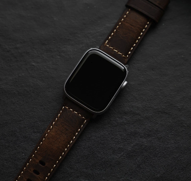 Bullstrap Leather Apple Watch Strap - Terra