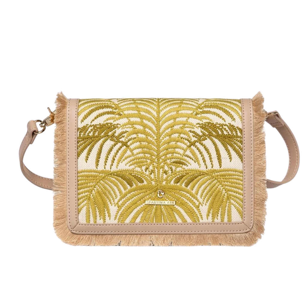 Spartina 449 Resort Clutch Crossbody in Oldfield Palm