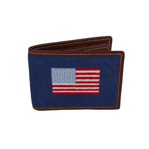 Needle Golf USA Navy Wallet
