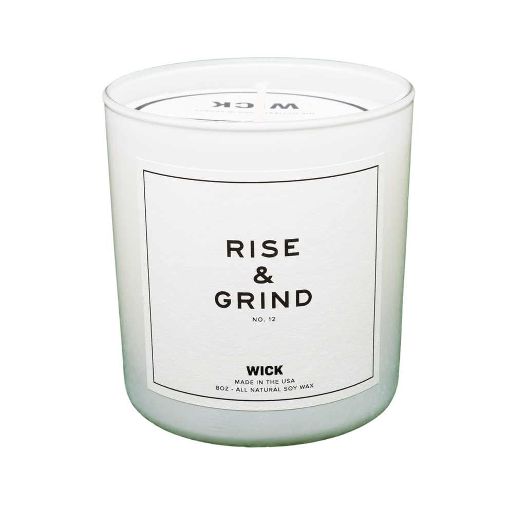 "Wick Sports ""RISE & GRIND"" Candle"