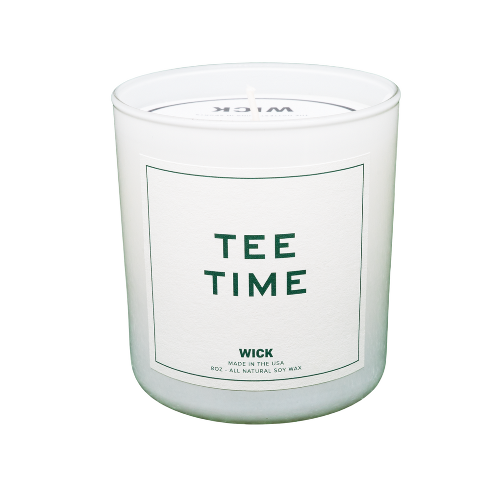 "Wick Sports ""TEE TIME"" Candle"