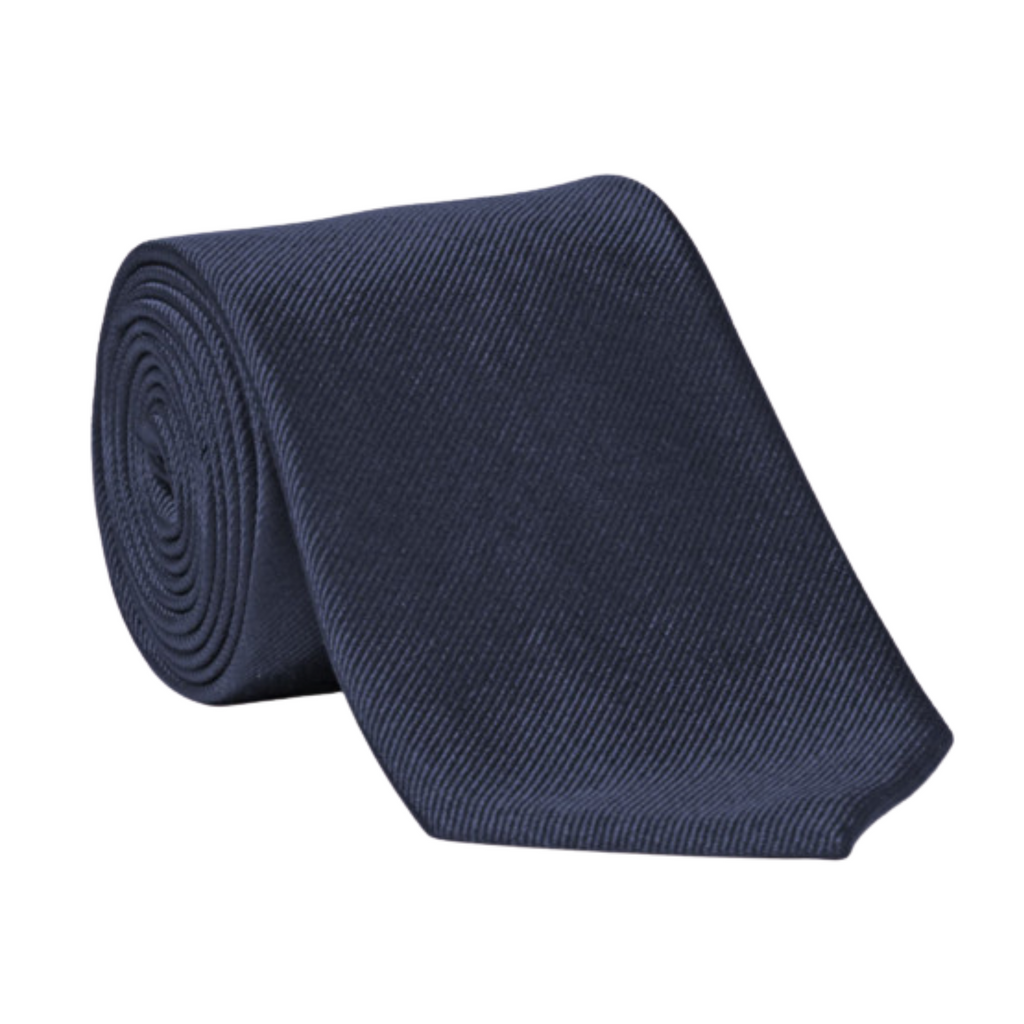 Alton Lane Navy Silk Tie