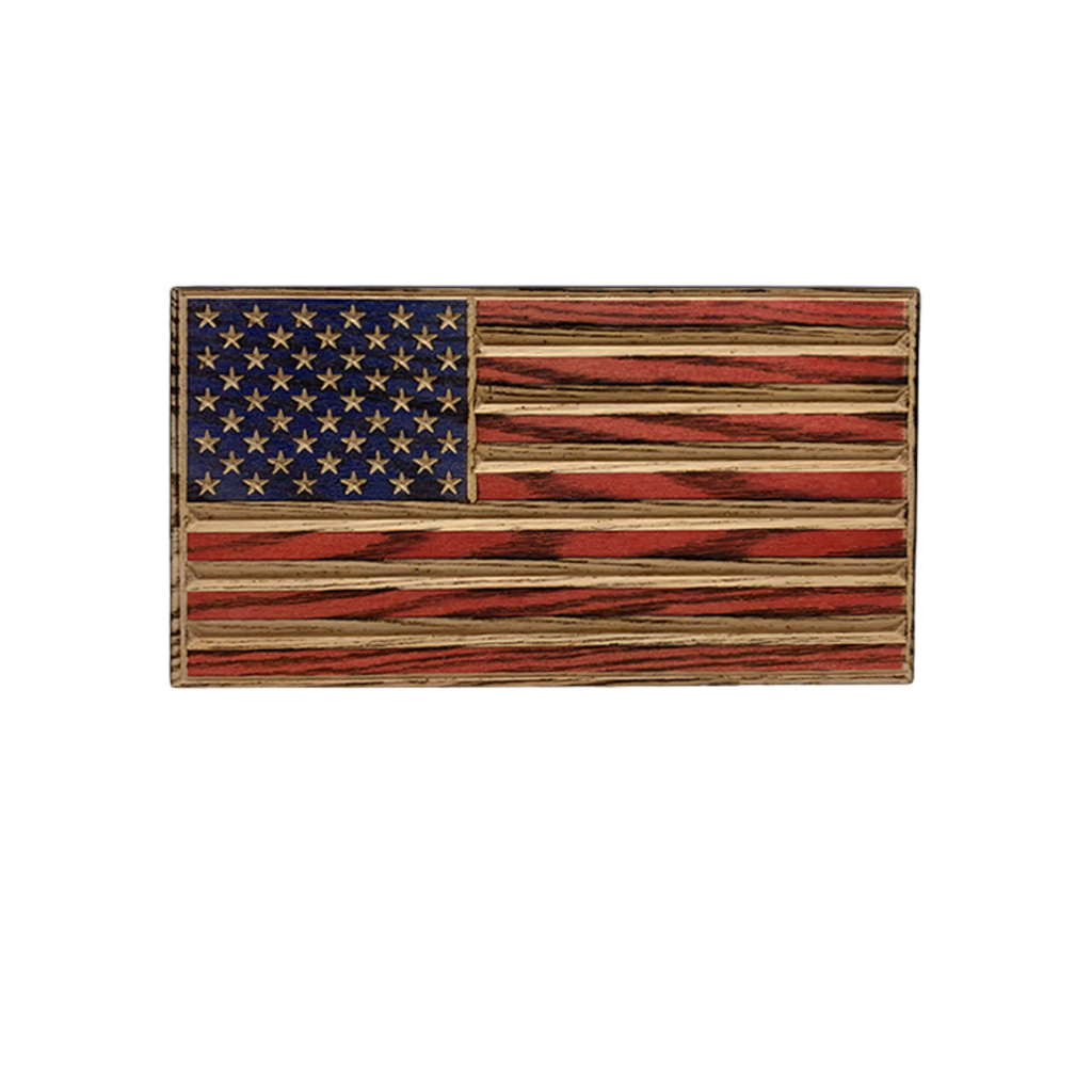 Flags of Valor Wooden Old Glory Desk Flag