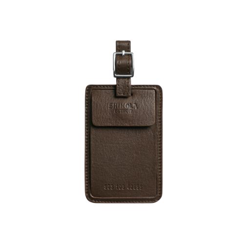 Shinola Leather Luggage ID