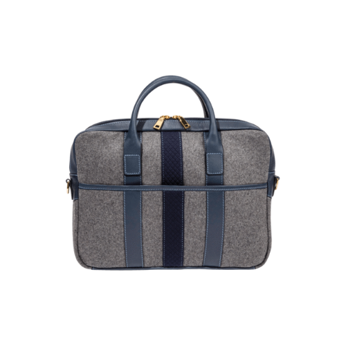Monte + Co Wool Briefcase