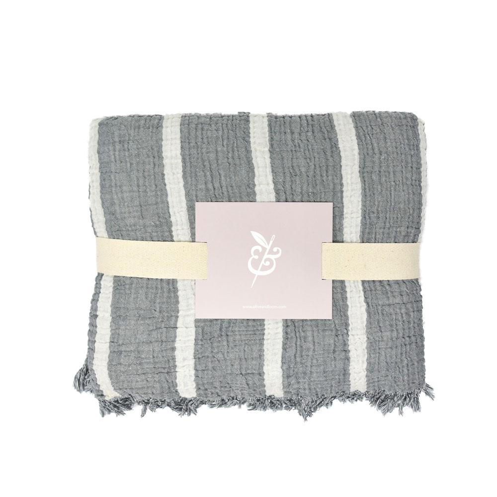 Olive & Loom Throw