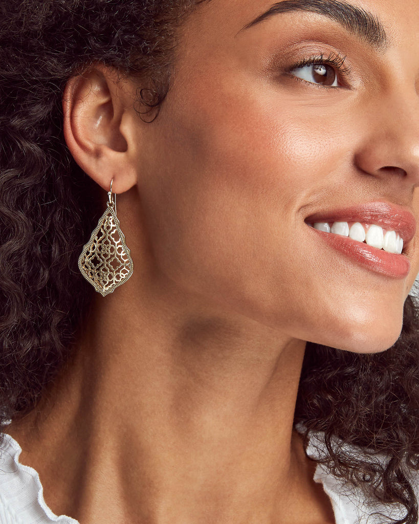 Kendra Scott Addie Gold Drop Earrings