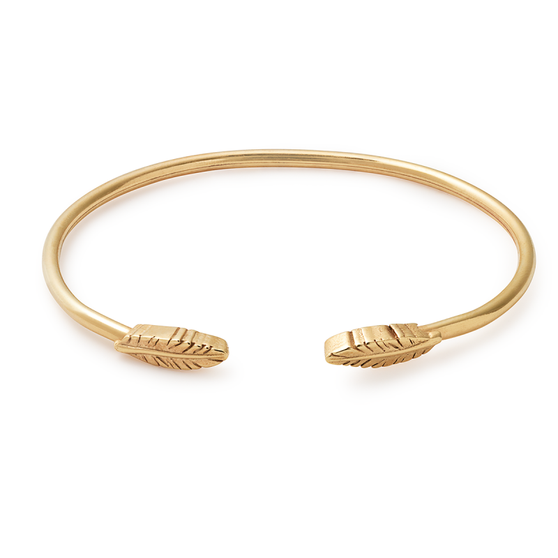 Alex and Ani Feather Cuff
