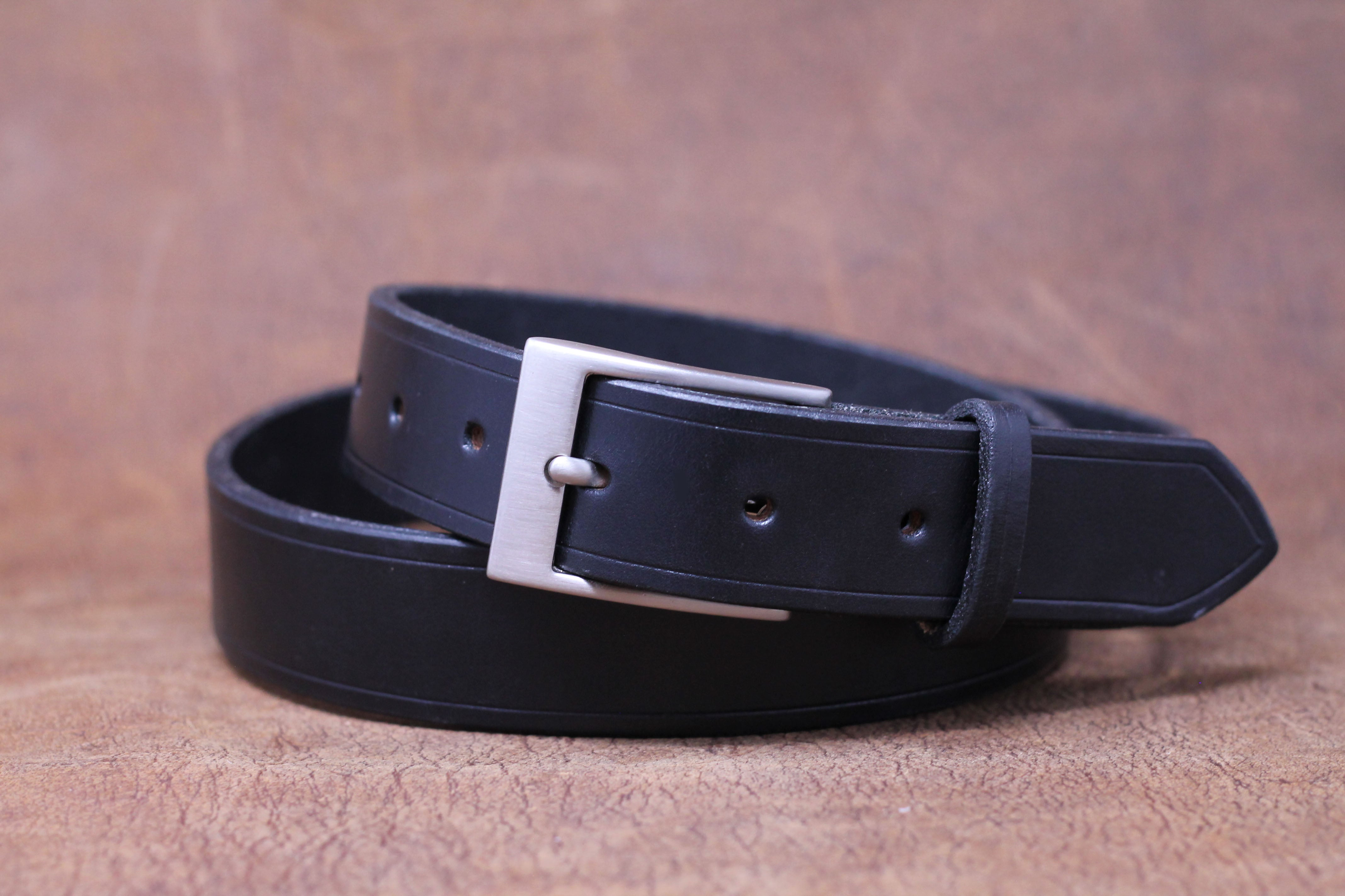 Handmade high quality leather English Bridle belt