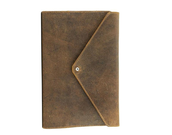 Large Refillable Journal - Natural Brown