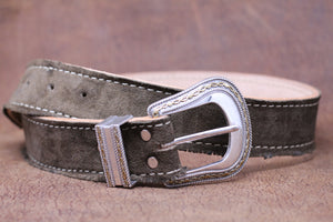 Handmade high quality custom leather belt
