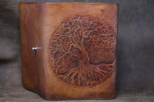 Refillable Leather Journal - Tree of Life