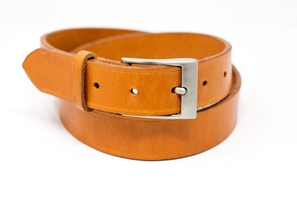 English Bridle Belt - London Tan