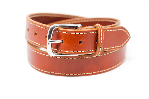 Stitched English Bridle Belt