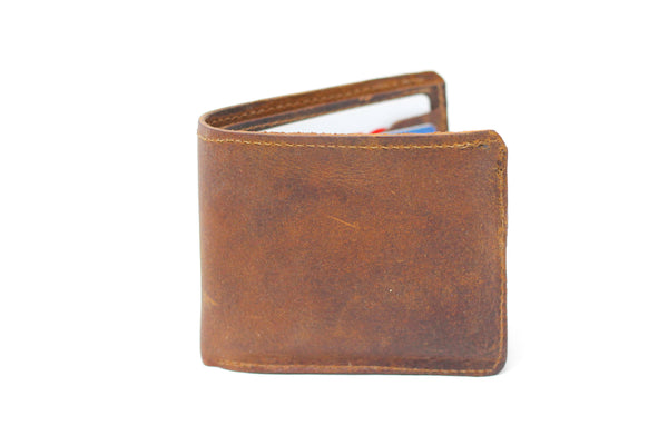 Bifold Wallet - Natural Brown