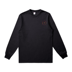 BULLET TO THE HEART Black L/S