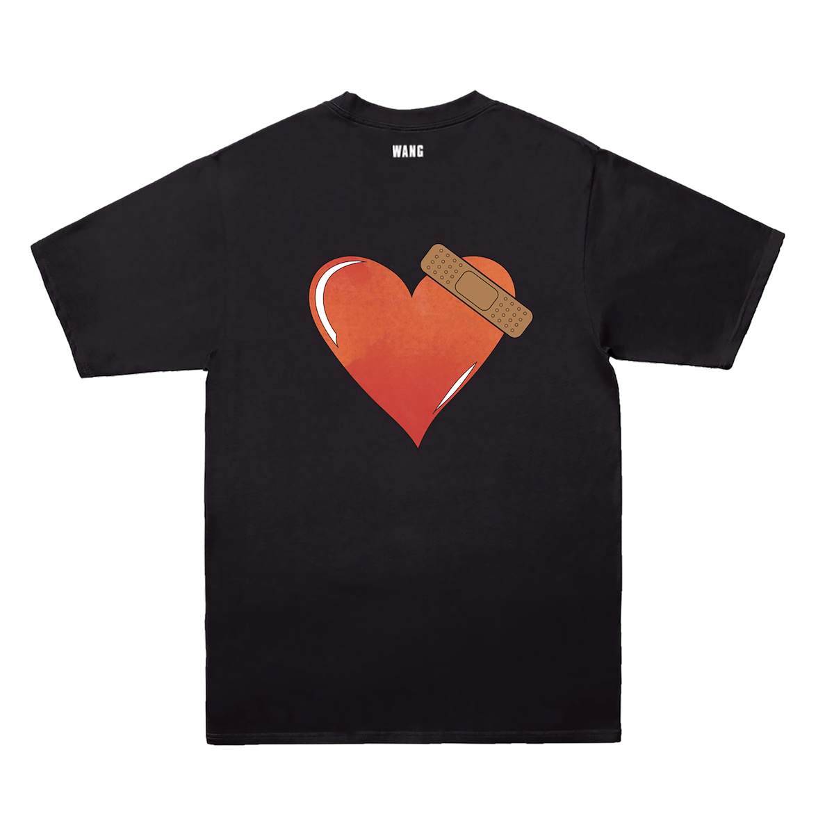 BULLET TO THE HEART Black T-Shirt