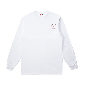 BULLET TO THE HEART White L/S