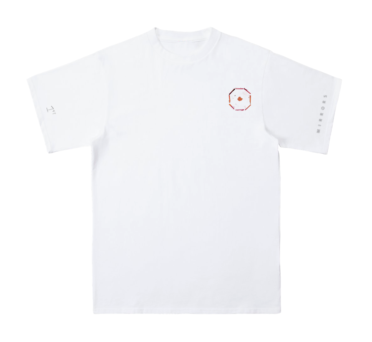BULLET TO THE HEART White T-Shirt
