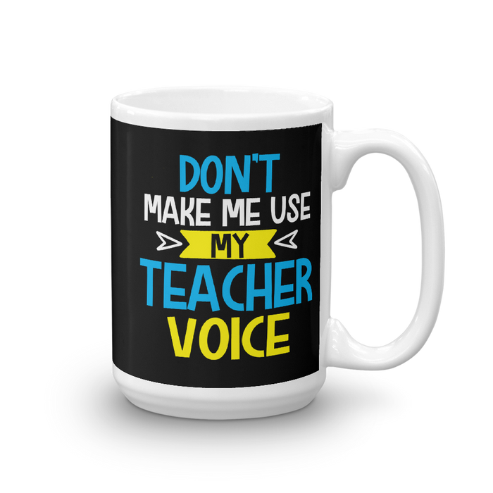 Teacher Voice Mug