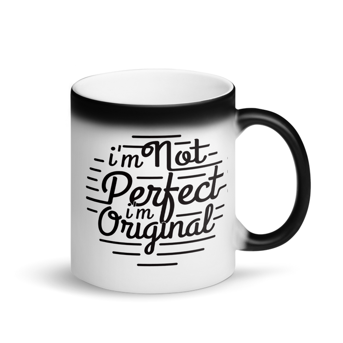 I'm Original Matte Black Magic Mug