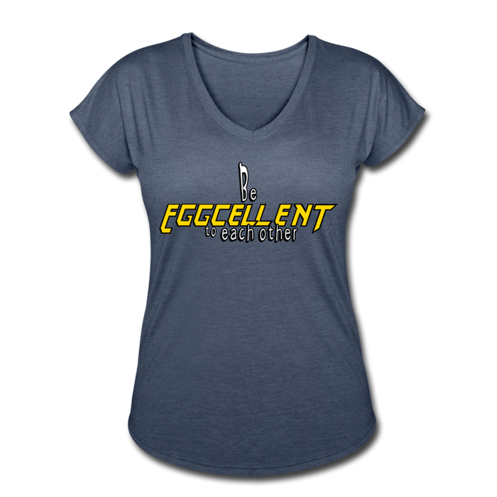 Be Eggcellent style 2 - navy heather