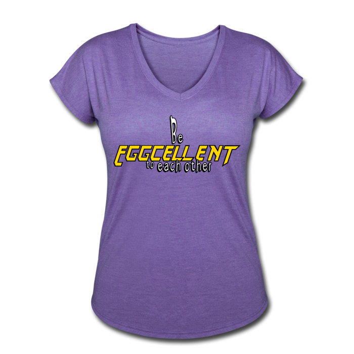 Be Eggcellent style 2 - purple heather
