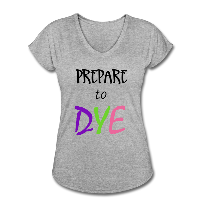 Prepare Dye - heather gray