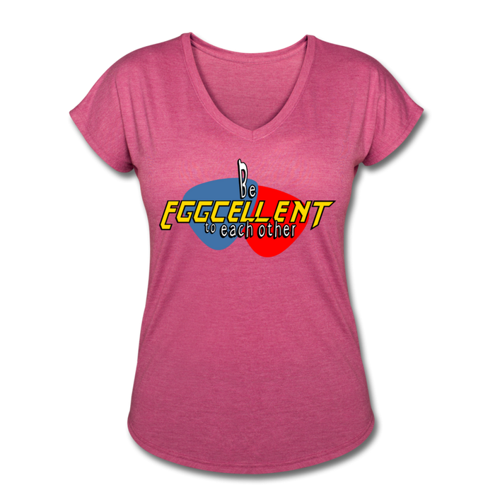 Be Eggcellent style1 - heather raspberry