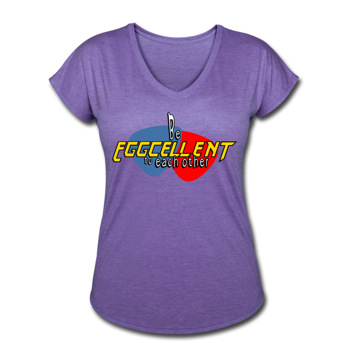 Be Eggcellent style1 - purple heather