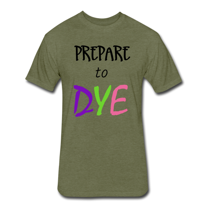 Prepare Dye - heather military green