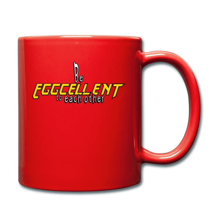 Be Eggcellent Style 1 - red